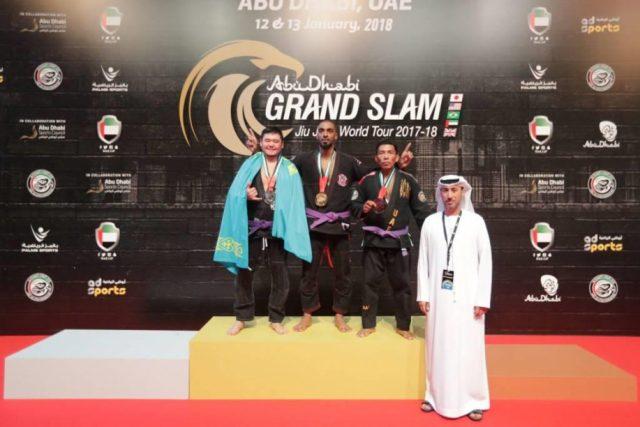 Казахстанские джитсеры стали победителями международного турнира в Абу-Даби
