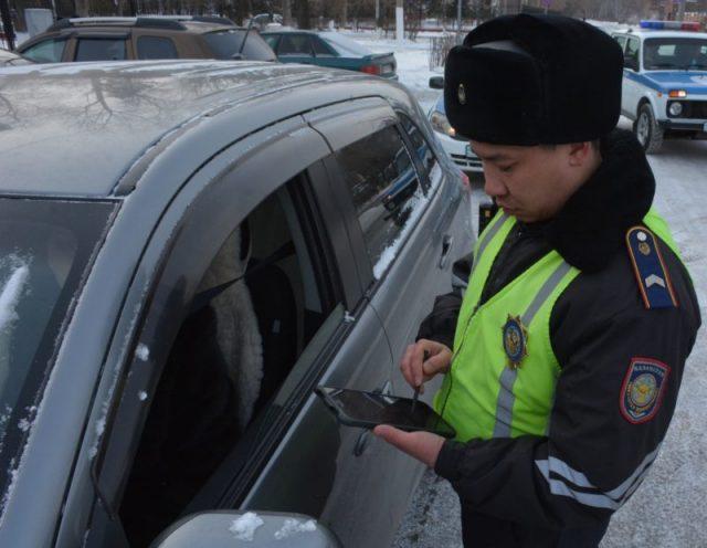 С начала года с помощью планшетов в Петропавловске составлено более 60 административных протоколов
