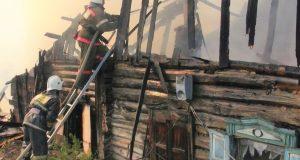В-Петропавловске-сгорел-жилой-дом