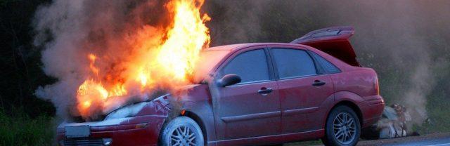 Пожар-произошел-на-автостоянке-ТРЦ
