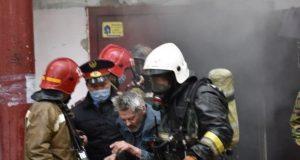 25-человек-спасли-из-горящего-дома-в-Петропавловске