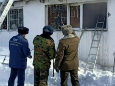 Военный-эвакуировал-3-человек-из-горящего-дома-в-Петропавловске