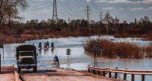 Штормовое-предупреждение-объявлено-в-СКО-из-за-подъема-уровня-воды-в-реке-Есиль