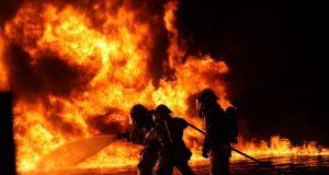 Шесть-домов-сгорело-в-селе-на-севере-Казахстана