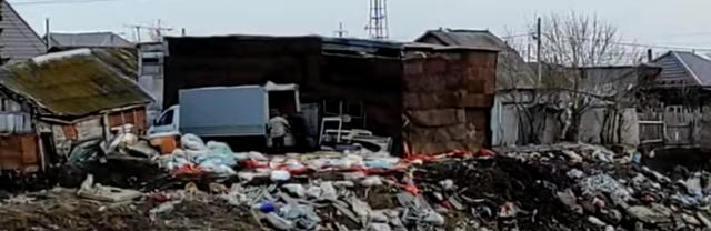 Несанкционированную-свалку-устроили-петропавловцы-на-берегу-Ишима
