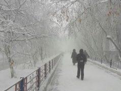 В Казахстане из-за 40-градусных морозов отменены занятия в школах